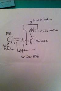 PIR project schematic