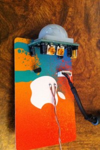 Gift card circuit board top