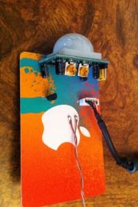 Gift card circuit board top